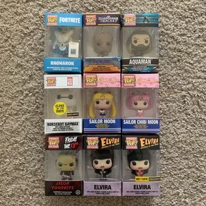 Funko Pocket POP! Keychains bundle